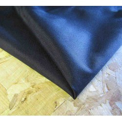 Waterproof  Canvas fabric -  black remnant 0,30m