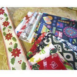 Christmas patterns Lucky Dip - Fat 8th bundle