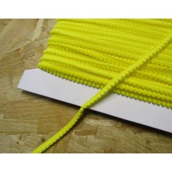 fine pom pom trim - yellow 117