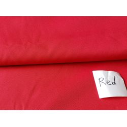Waterproof  Canvas fabric -  red