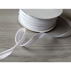 Fine flanged fabric piping cord  - 2.5mm gold brocade