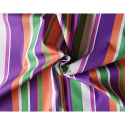 Outdoor water resistant  fabric - colourful stripe - Brasil