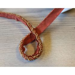 Two-tone upholstery piping cord -gold&gold - size 7