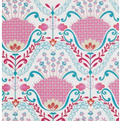 Hyacinth in Pink -  Dena Designs  for FreeSpirit - Fat Quarter