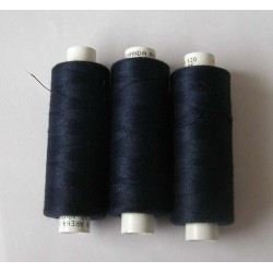 Sewing Machine Thread 500meters - dark navy