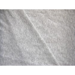 Sweatshirt jersey fabric - blend grey