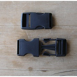 Side Release Plastic Buckle - 18mm