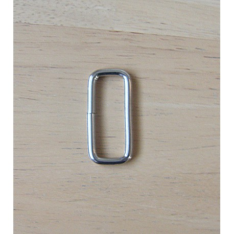 Rectangle Metal Square D ring - 30mm