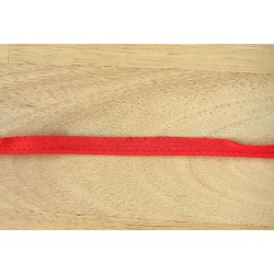 Cotton Flanged fabric piping cord - red