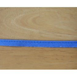 cotton flanged fabric piping cord - blue