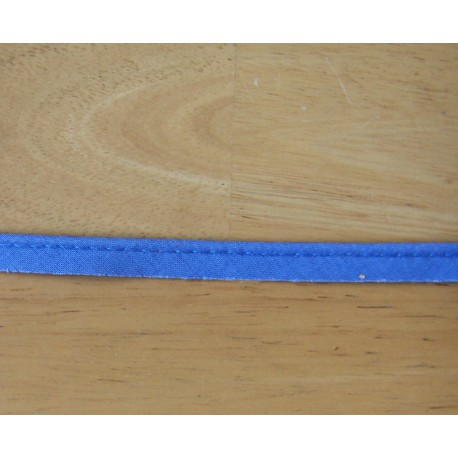 Flanged fabric piping - blue