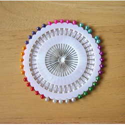 Pearl head  pins - 38mm