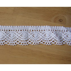 Lace ribbon - cotton
