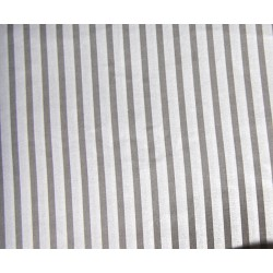 grey&white stripes 6mm/10mm