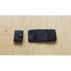 Bra Hook and Eye Extender - black