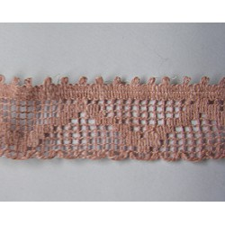 Lace ribbon - light salmon