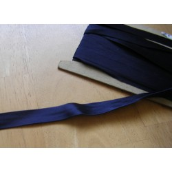 satin bias binding 15mm  - navy