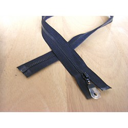 chunky zip size 3 - open end - 65cm - black