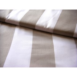 beige&white stripes 80mm/80mm