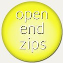 open end zips