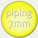 piping - 7mm