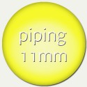piping - 11mm