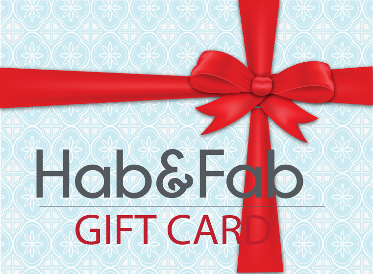 Gift card in Hab&Fab - perfect present for each ocasion!